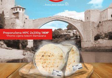 Svježi somuni iz Klas Pekare u Mostaru