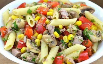 Hladna pasta salata sa tunjevinom